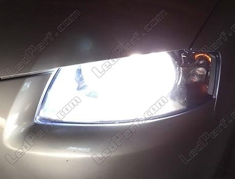 Audi A3 8P Xenon Look Abblendlicht Lampen H7 In Vision Blue