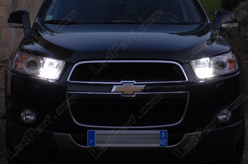 standlicht und tagfahrlicht led pack f r chevrolet captiva drl. Black Bedroom Furniture Sets. Home Design Ideas