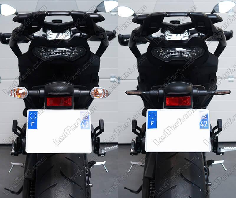 650 Performance//ER-6F//N E-Gepr/üft // 2St/ück LED Blinker kompatibel mit Kawasaki Ninja 400 B17