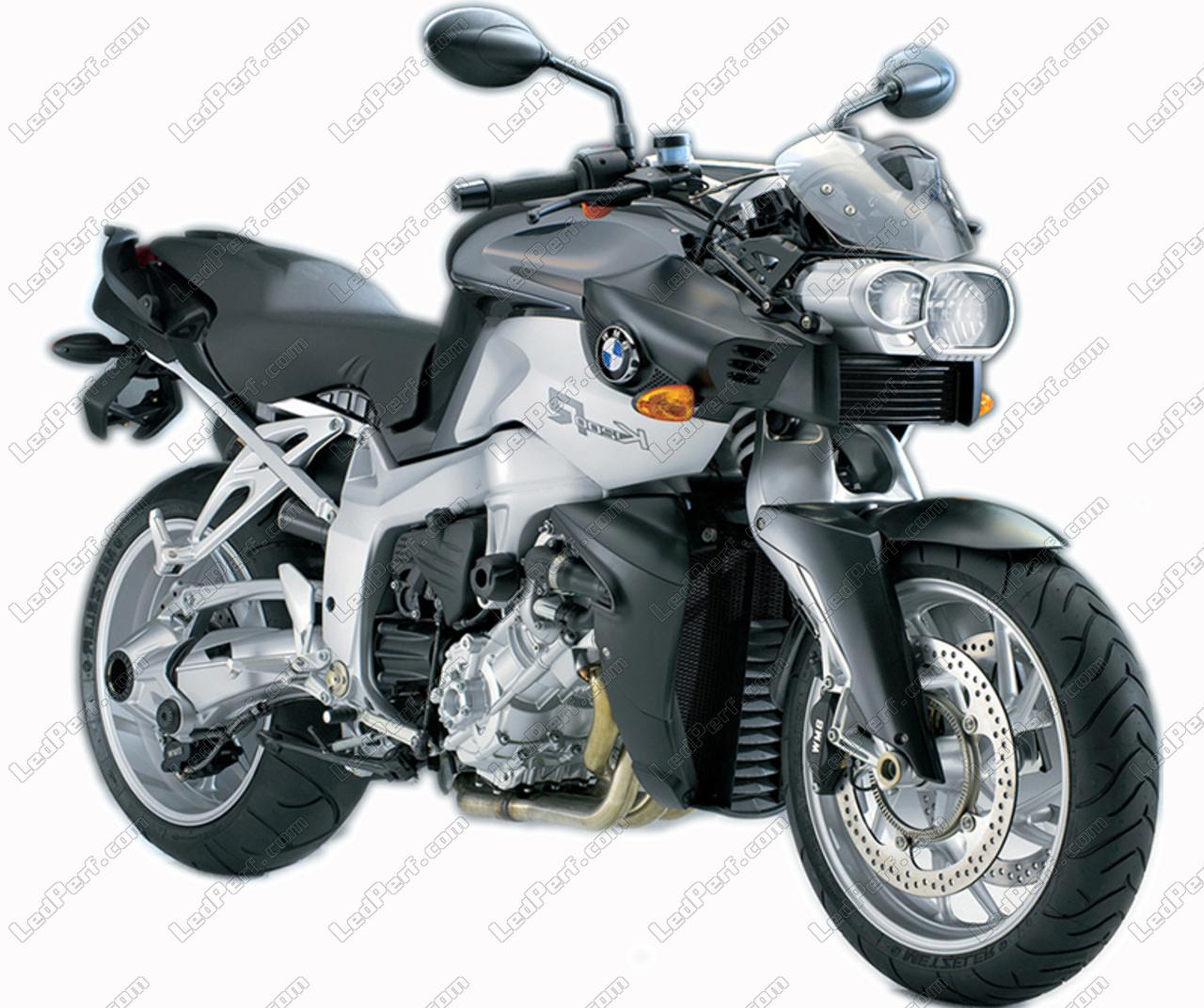 Scheinwerferlampen Pack Mit Xenon Effekt Für Bmw Motorrad K 1200 R