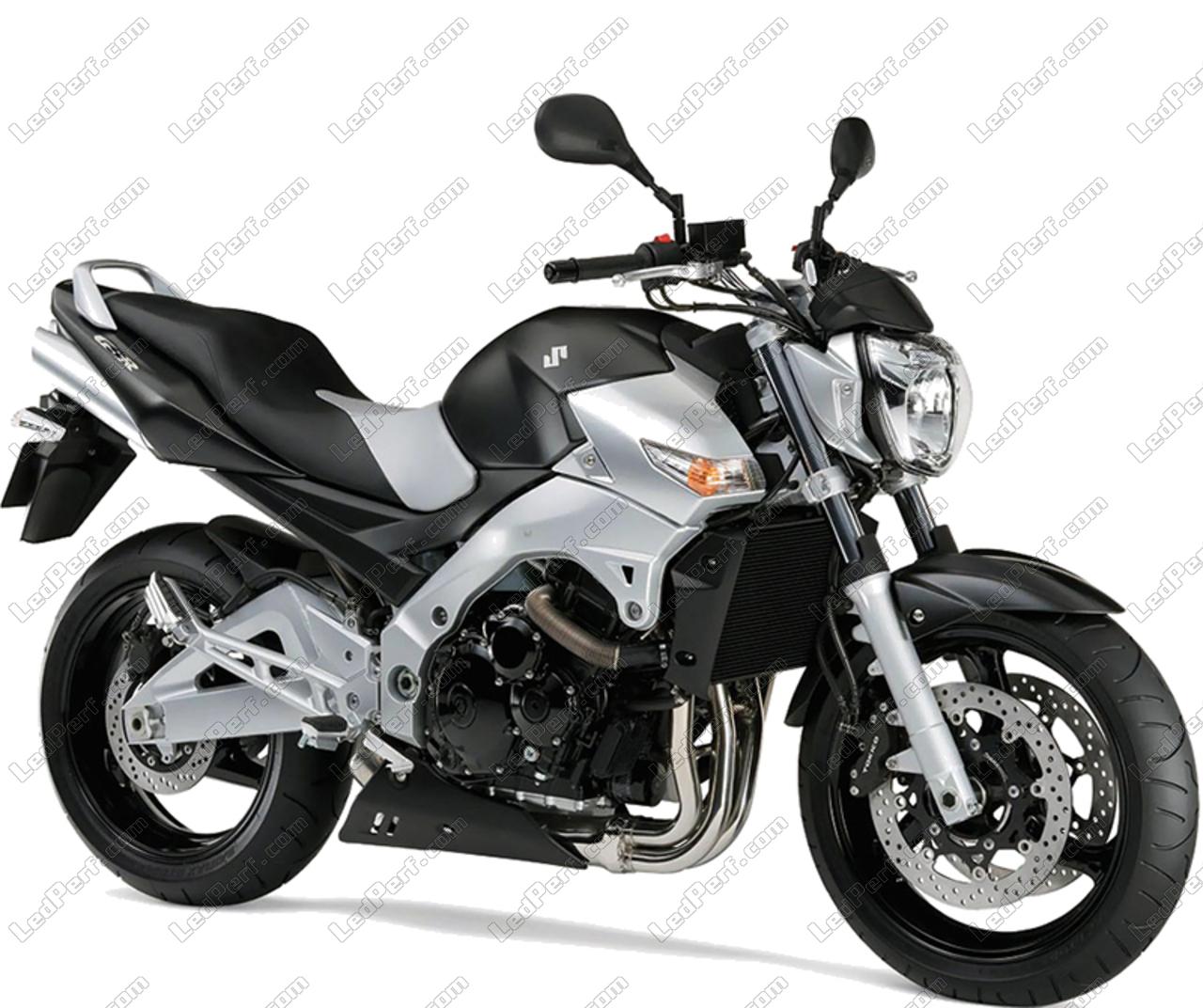 Scheinwerferlampen-Pack mit Xenon-Effekt für Suzuki GSR 600