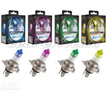 Pack mit 2 Lampen H4 Philips ColorVision
