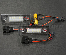Pack mit 2 LED-Modulen hinteres Typenschild VW Audi Seat Skoda ( Typ 12 )