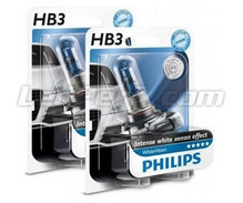 Pack mit 2 Lampen HB3 Philips WhiteVision (Neu!)