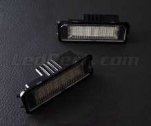 Pack mit 2 LED-Modulen hinteres Typenschild VW Audi Seat Skoda ( Typ 2 )