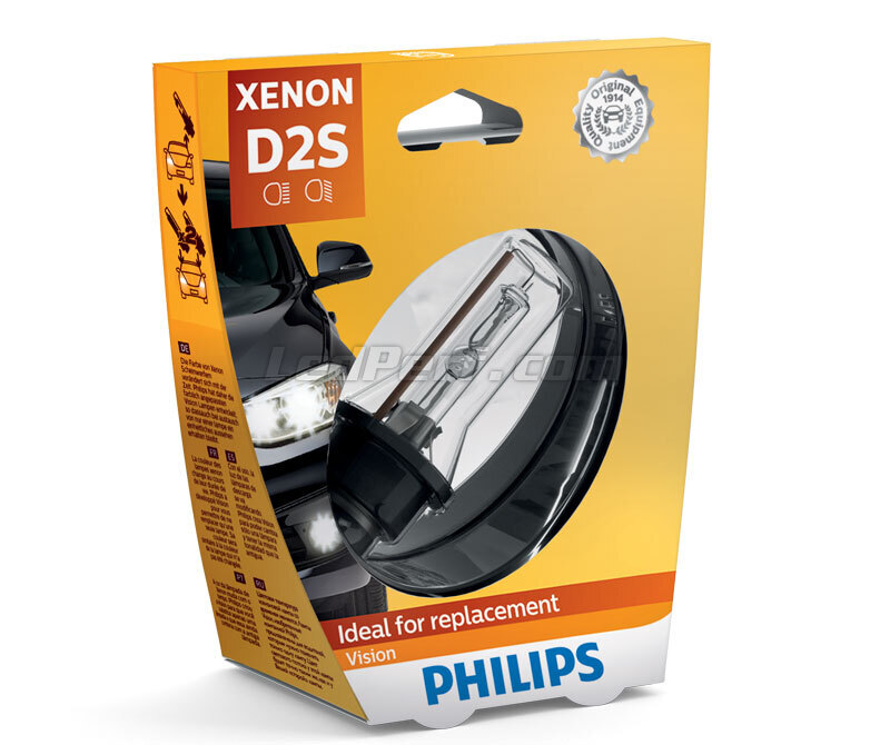Lampe D2S Philips Vision 4400K - 85122VIC1