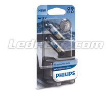 2er-Set Halogen-Lampen Philips BlueVision ULTRA - Weiß - Base H6W