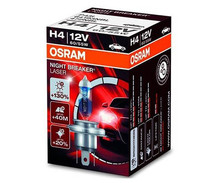 H4 Glühlampe Osram Night Breaker Laser + 130%