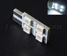 LED T10 Rotation mit 4 LEDs HP - Seitenbeleuchtung - weiß W5W