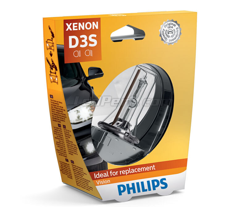 Lampe D3S Philips Vision 4400K - 42403VIC1