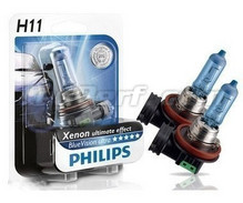 Pack mit 2 Lampen H11 White Vision Philips