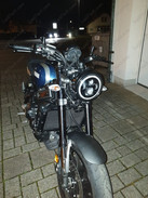 Led YAMAHA AUTRE 2016 XSR900 Had to saw off the included mounts for the headlight to fit to the original mounts Tuning